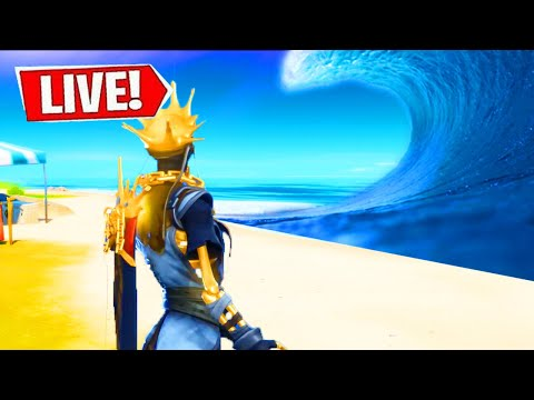 🔴 *NEW* FORTNITE SEASON 2 LIVE EVENT! MAP FLOODED LIVE! (Fortnite Chapter 2)