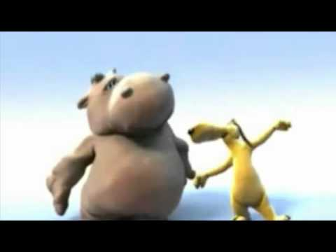 Hippo and Bully - In The Jungle - The Mighty Jungle (HD)