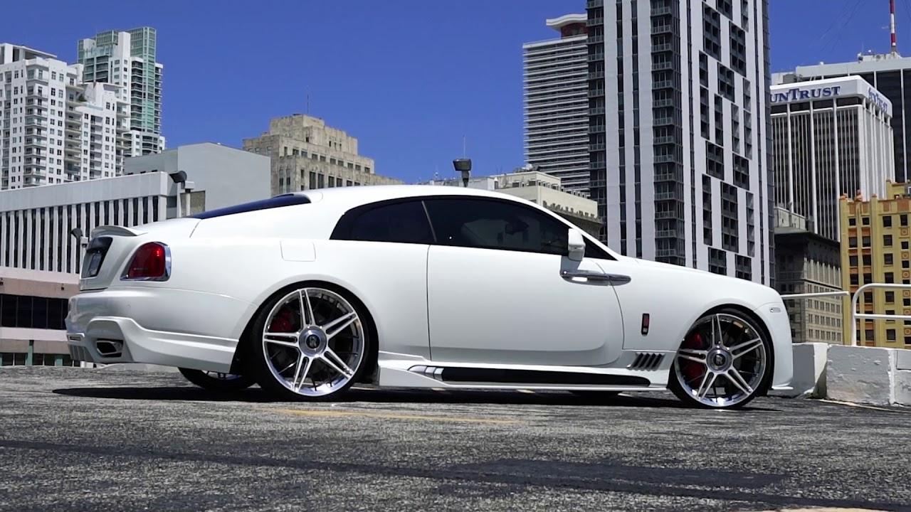 Rolls Royce Miami >> MC Customs | Rolls Royce Wriath • Wald - YouTube