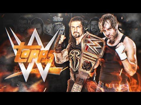 LA COLECCIÓN DEFINITIVA DE CROMOS DE LA WWE !! | PACK OPENING TOPPS STICKERS WWE