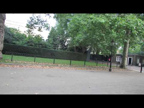 Walk Along The Mall From Clarence House in London