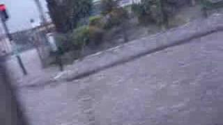 LLuvia de piedras en buenos Aires