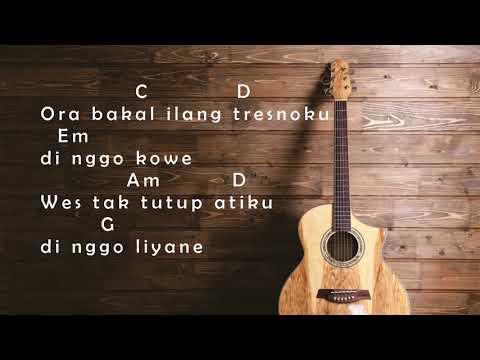 (OffsLyric) Agung P - Kependem Tresno Cord  (kunci Gitar)