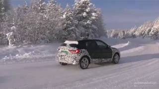 2020 Audi A1 Allroad Goes Winter Testing