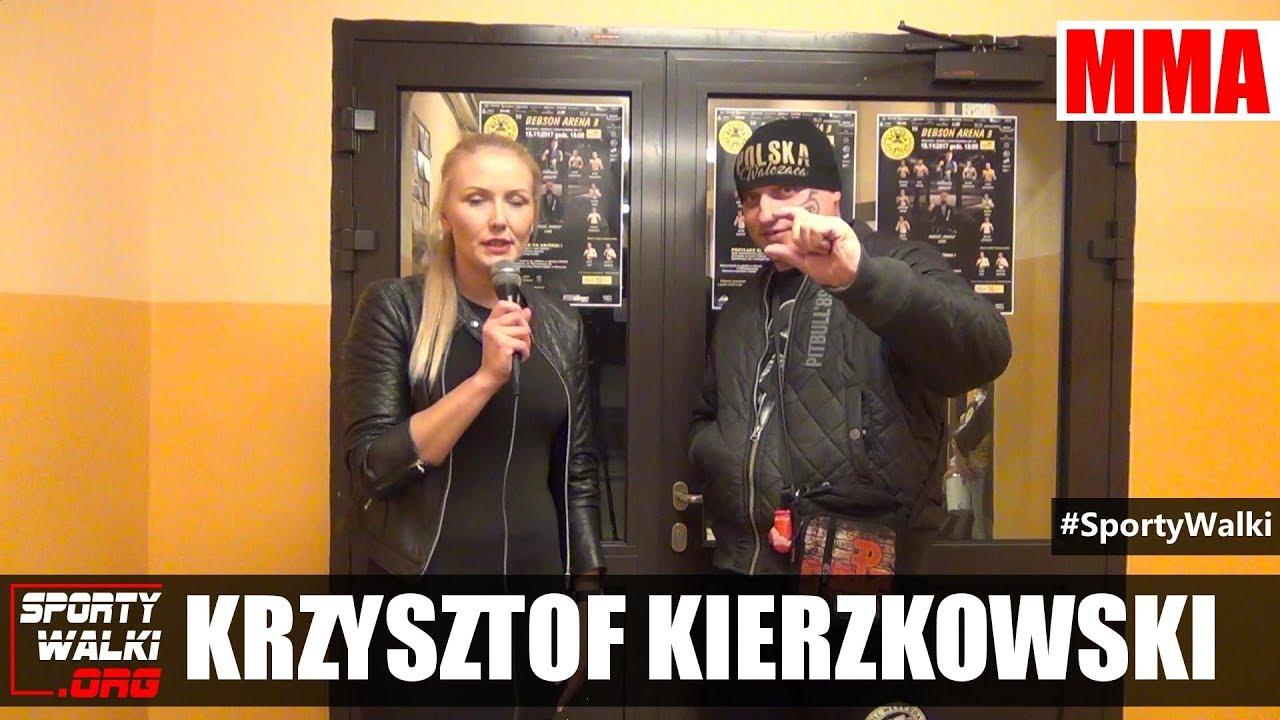 """Krzysztof Kierzkowski z """"Miłość bez ustawki"""" na gali Bebson Arena 3"""