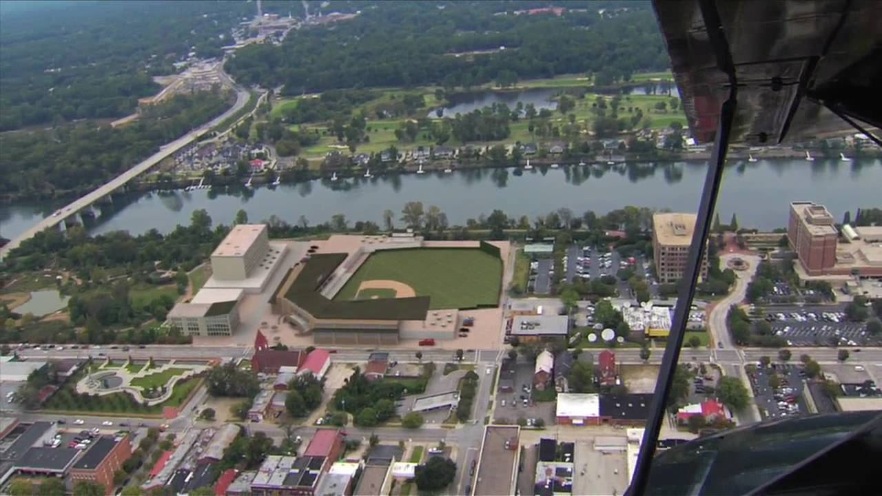 Augusta Greenjackets Stadium example - YouTube