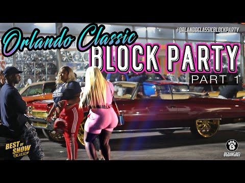 ORLANDO CLASSIC BLOCK PARTY 2019 - PART 1: Donks, Girls, & Big Rims