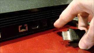 How To Connect the Playstation 3 to a HDTV (1080p HD)