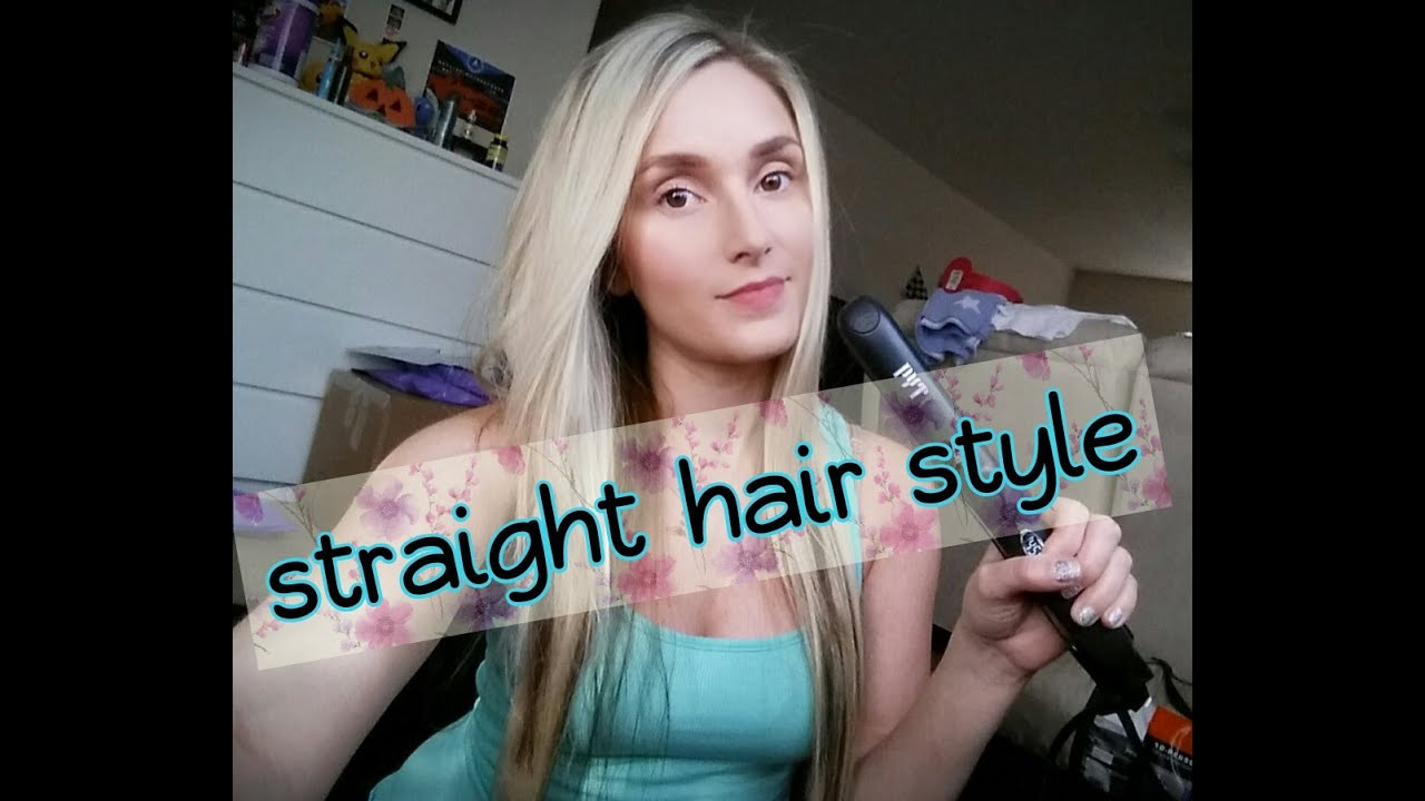 How To: Volume + Straight Hair