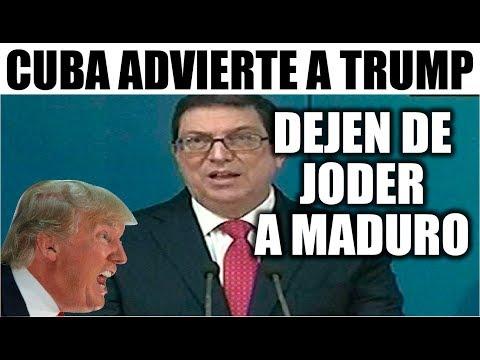 Ultimas noticias CUBA EEUU, CUBA ADVIERTE A TRUMP 19/02/2019