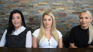 Paige, Sophia and Hannah - Key Client Managers