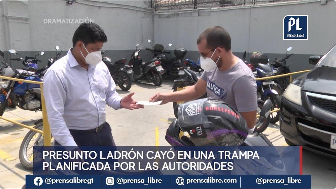 Hombre es capturado cuando vendía la motocicleta que había robado; hoy es procesado en un juzgado