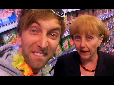 Sandra Trifft Frau Merkel Im Supermarkt