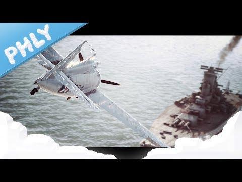 War Thunder CAMPAIGN - Wake Island DEFENSE (War Thunder Gameplay)
