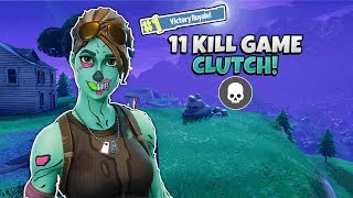 Jojo - 11 KILL GAME CLUTCH FTW!! Duos w/CracklyPeach (Fortnite Battle Royale)