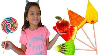 Masal Learn Colors with Fruits - Funny Kids Video