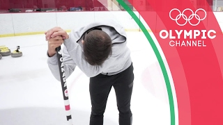 Kaitlyn Lawes Challenges @PWGFreestyle to a Curling Workout | Hitting the Wall