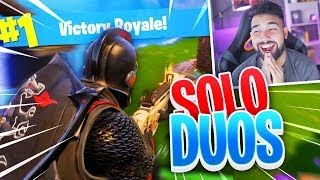 MY FIRST SOLO in DUOS WIN..!! Fortnite: Battle Royale