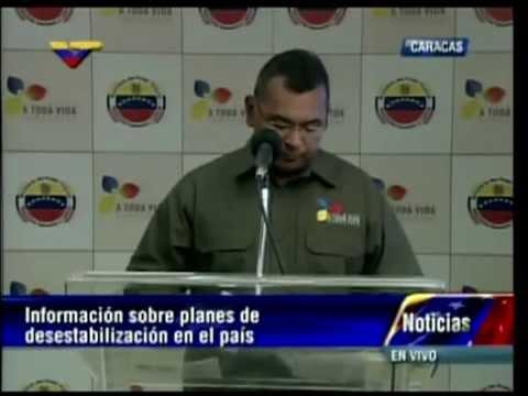 Ministro Reverol informa del ingreso al país de dos grupos de mercenarios
