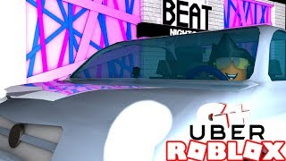 😂 I BECAME a DRIVER in Bloxburg UBER ROBLOX-! #14