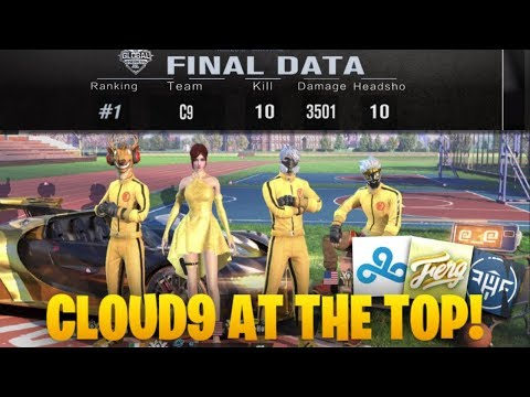 CLOUD 9 KILL MONTAGE / RULES OF SURVIVAL GLOBAL SERIES! ( ROS MOBILE $60,000 TOURNAMENT )