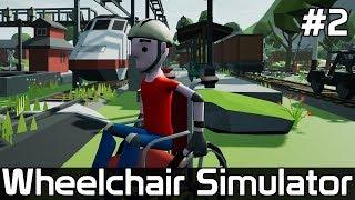 Wheelchair Simulator [#2] POCIĄG czy WÓZEK INWALIDZKI