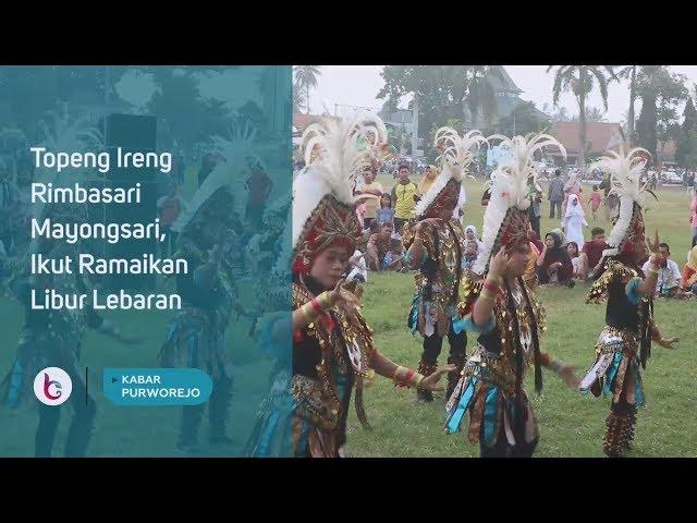 Topeng Ireng Rimbasari Mayongsari, Ikut Ramaikan Libur Lebaran