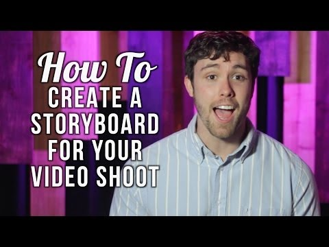 How to Create a Storyboard for Your Video Shoot