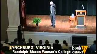 Richard Dawkins Answers Students and Teachers Lynchburg VA
