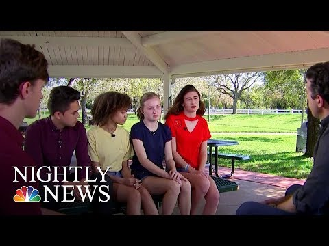 Students Call For Action After Florida School Mass Shooting   NBC Nightly News