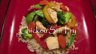 Jen's Chicken Stir Fry Recipe