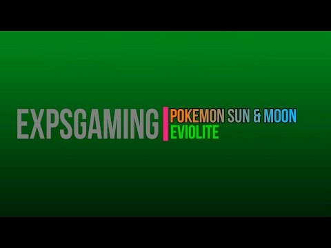 [Item] Sun & Moon: Eviolite
