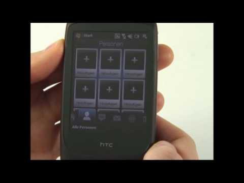 HTC Touch 3G Test Bedienung