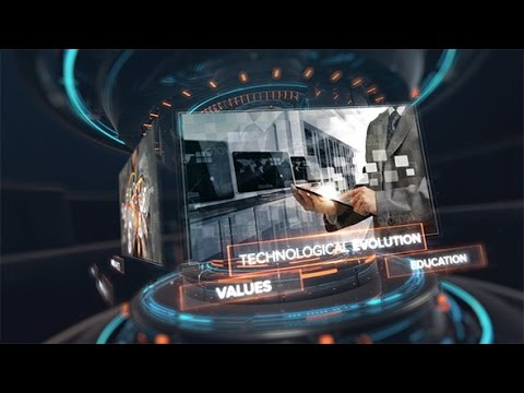 Digital Technology Intro | After Effects template - YouTube