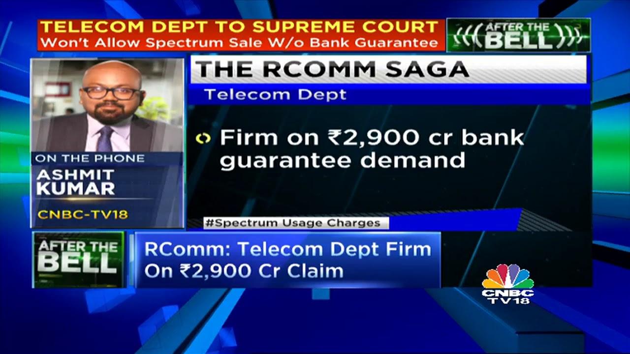 RComm: Telecom Dept Firm On `2,900 Cr Claim