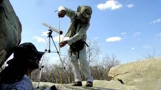 No Uiraponga inscrições em pedras são catalogadas por arqueólogos da URCA