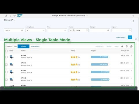 Creating Multiple Views with SAP Fiori Elements