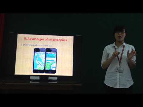 Nguyễn Thị Trà My - Anh 19 - Advantages and disadvantages of smartphones