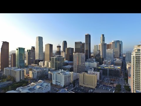 Los Angeles 2015 Drone Flight (Amazing Footage)