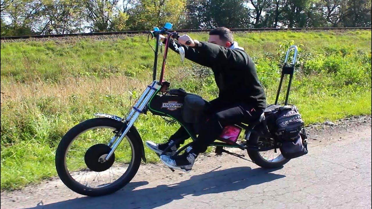 Как сделать чоппер из велосипеда фото 919