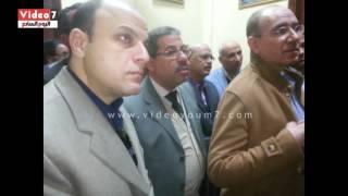 بالفيديو..الله الله يا بدوى جاب اليسرى.. محافظ الغربية ومدير الأمن فى رحاب الأحمدى