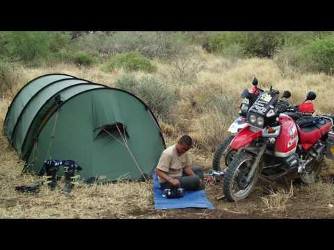 Talking Tents with adventure motorcyclist Simon & Lisa Thomas