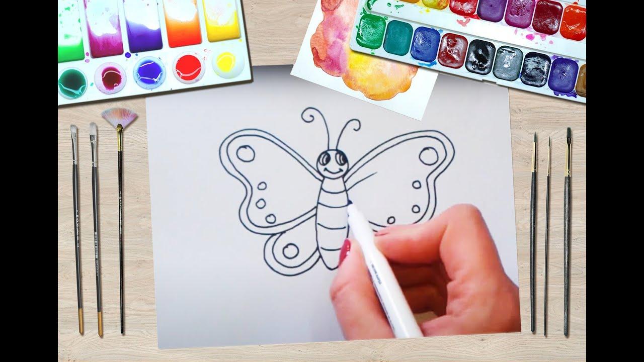 Cum Desenezi Un Fluture Pas Cu Pas