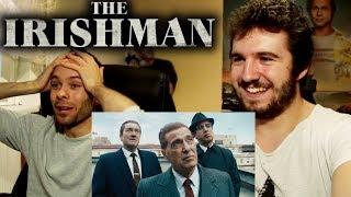 The Irishman - Official Trailer REACTION
