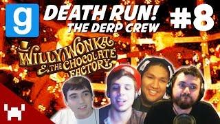 Willy Wonka's Fizzy Lifting Drinks! (garry's Mod Death Run W/ The Derp Crew #8)