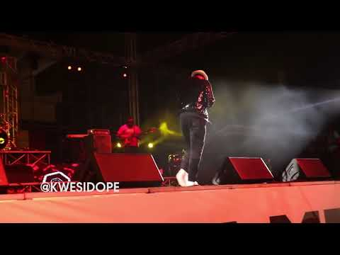 MR P (P SQUARE ) OPENING ACT AT AFRIMA 2018 IN ACCRA GHANA