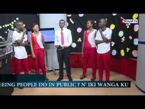 SHINNING STARS IN DANCE 4 LIFE AT ROYAL TV kigali-rwanda