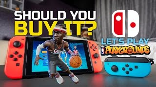 nba playgrounds switch multiplayer