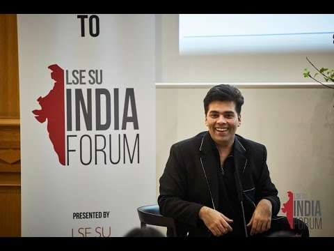 Karan Johar at LSE - In Conversation with Anupama Chopra - LIF 2017