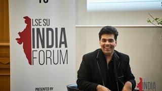 Karan Johar at LSE - In Conversation with Anupama Chopra - LIF 2017 thumbnail